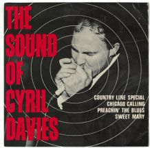 Cyril Davies - The Sound Of Cyril Davies 4 Track E.P.